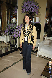 BELLA FREUD at the 10th Anniversary Party of the Lavender Trust, Breast Cancer charity held at Claridge's, Brook Street, London on 1st May 2008.<br />