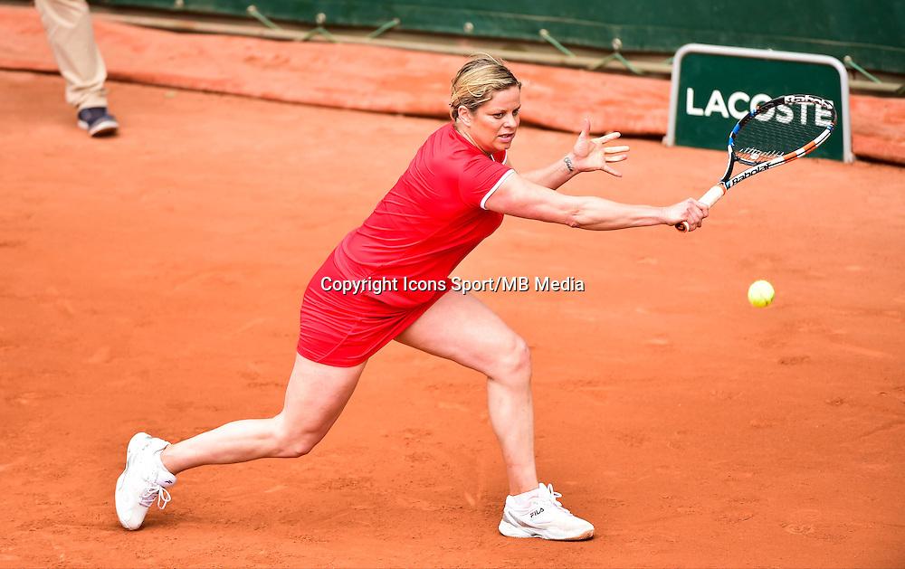 Kim CLIJSTERS - 03.06.2015 - Jour 11 - Roland Garros 2015<br />Photo : Dave Winter / Icon Sport