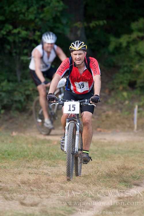 CHARLOTTESVILLE, VA - August 17, 2008 - PAUL BROCKMAN (15) in the 2008 Charlottesville XTERRA Triathlon was held at Walnut Creek Park in Albemarle County near Charlottesville, Virginia, USA.
