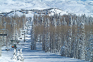 Deer Valley Resort winter scene