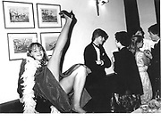 Josephine Valentire, Keats Society Dinner, Oxford 1981© Copyright Photograph by Dafydd Jones 66 Stockwell Park Rd. London SW9 0DA Tel 020 7733 0108 www.dafjones.com