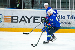 KALAN Luka (SLO) during OI pre-qualifications of Group G between Slovenia men's national ice hockey team and Croatia men's national ice hockey team, on February 7, 2020 in Ice Arena Podmezakla, Jesenice, Slovenia. Photo by Peter Podobnik / Sportida