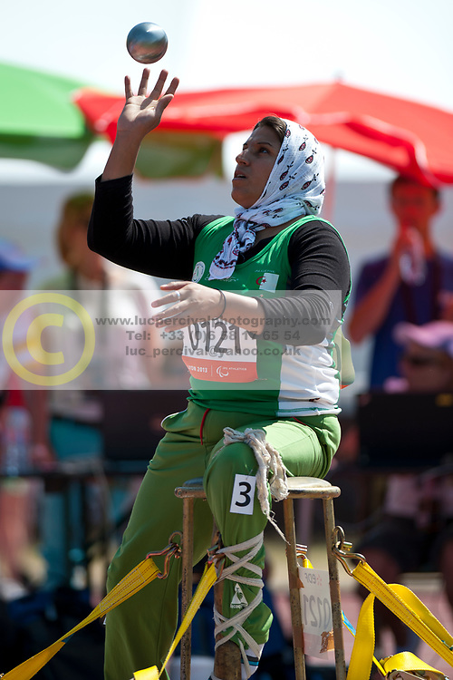 , , Shot Put, F58, 2013 IPC Athletics World Championships, Lyon, France