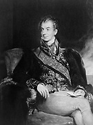 Prince Klemens von Metternich 1773 – 1859. German-born Austrian politician and statesman. Portrait of Prince Metternich (c. 1825) by Sir Thomas Lawrence.