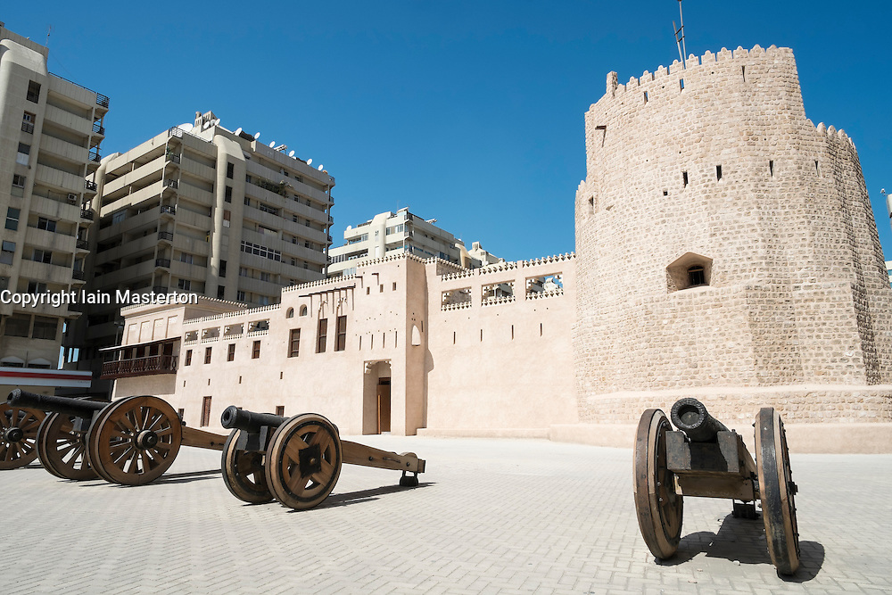 Al Hisn Fort in Sharjah United Arab Emirates