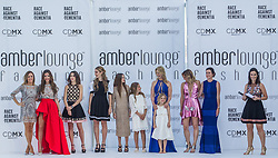 May 25, 2018 - Montecarlo, Monaco - Ladies of F1 presents the creations of Alessandra Vicedomini at the 15th Amber Lounge Charity Fashion Show 2018 in Monte Carlo, Monaco. (Credit Image: © Robert Szaniszlo/NurPhoto via ZUMA Press)