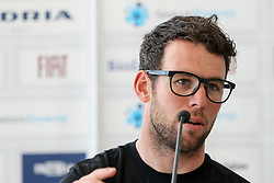 Mark Cavendish of Team Dimension Data before press conference of cycling race Po Sloveniji - Tour de Slovenie 2015 on June 15, 2016 in Hotel Jama, Postojna, Slovenia. Photo by Morgan Kristan / Sportida