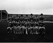 01/11/1970<br /> 11/01/1970<br /> 1 November 1970<br /> All-Ireland Under-21 Hurling Final: Cork v Wexford at Croke Park, Dublin. <br /> The Wexford team.