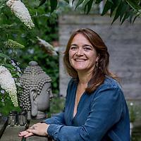 Nederland,Amsterdam, 28 juli 2017.<br /> Brigitte Janssen, producer bij de NOS<br /> Brigitte heeft zes jaar op rij de Tour de France gecoördineerd voor de NOS.<br /> <br /> Foto: Jean-Pierre Jans