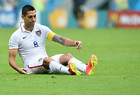 Fotball<br /> Tyskland v USA<br /> 26.06.2014<br /> VM 2014<br /> Foto: Witters/Digitalsport<br /> NORWAY ONLY<br /> <br /> Clint Dempsey (USA)<br /> Fussball, FIFA WM 2014 in Brasilien, Vorrunde, USA - Deutschland