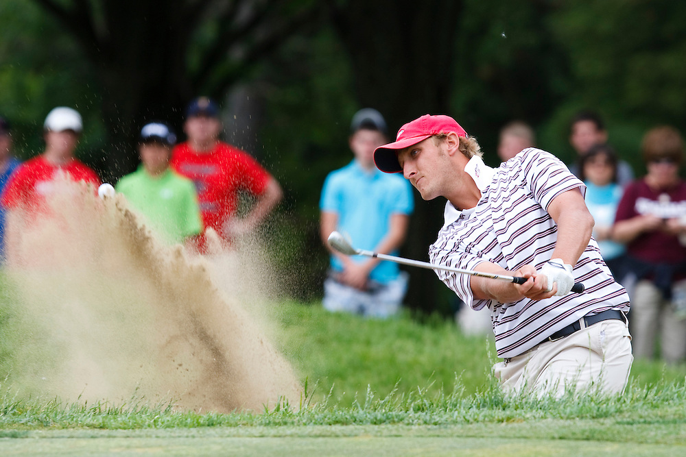 30 MAY 2009:Jason Cuthbertson of Arkansas at the NCAA Division 1 golf Championship Finals Match Play at the Inverness Golf Club, Toledo, Ohio.