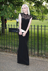 © London News Pictures. 26/06/2013. London, UK. Portia Freeman at  The Serpentine Gallery summer party, Kensington Gardens London UK, 26 June 2013, Photo credit: Richard Goldschmidt/LNP