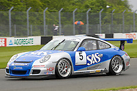 2009 Porsche Carrera Cup Great Britain.  Donington Park, Derby, United Kingdom. 16th-17th May 2009.  .(5) - James Sutton - Red Line Racing.World Copyright: Peter Taylor/PSP