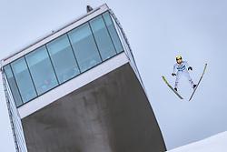 22.02.2019, Bergiselschanze, Innsbruck, AUT, FIS Weltmeisterschaften Ski Nordisch, Seefeld 2019, Skisprung, Herren, im Bild Manuel Fettner (AUT) // Manuel Fettner of Austria during the men's Skijumping of FIS Nordic Ski World Championships 2019. Bergiselschanze in Innsbruck, Austria on 2019/02/22. EXPA Pictures © 2019, PhotoCredit: EXPA/ Dominik Angerer