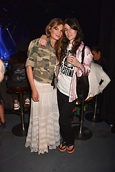 "Jemima Khan and Bella Freud at ""Hoping For Palestine"" Benefit Concert For Palestinian Refugee Children held at The Roundhouse, Chalk Farm Road, England. 04 June 2018."