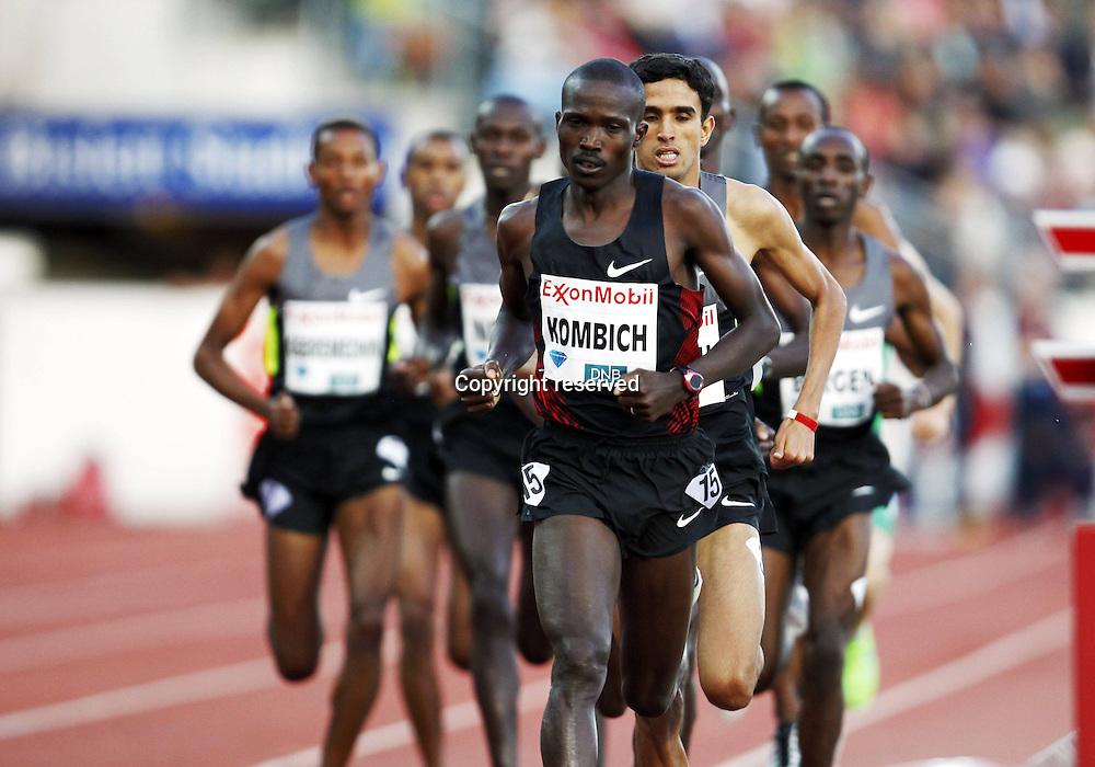 07.06.2012. Paris, France.   Diamond League Bislett Games Ismail Kipngetich Kombich Ken Dream Mile  Athletics