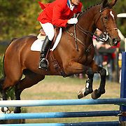 Darren Chiacchia and Sophie Bell at the 2007 Wits End Horse Trials in Mansfield, Ontario