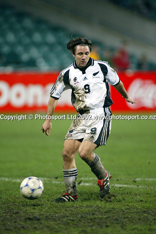 9th July 2002, North Harbour Stadium, Albany, Auckland.<br /> OFC Soccer Nations Cup. New Zealand vs Solomon Islands.<br /> Paul Urlovic<br /> New Zealand defeated the Solomon Islands 6-1.<br /> Photo: Sandra Teddy/Photosport.co.nz