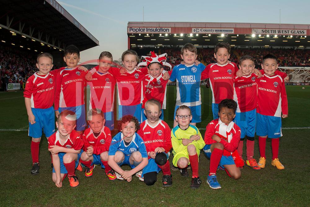- Photo mandatory by-line: Dougie Allward/JMP - Mobile: 07966 386802 - 07/04/2015 - SPORT - Football - Bristol - Ashton Gate - Bristol City v Swindon Town - Sky Bet League One