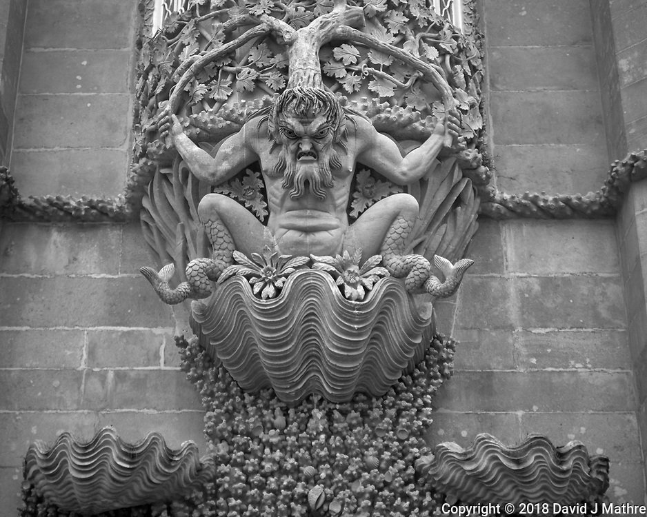 Triton over the Pena Castle Entry. Image taken with a Fuji X-T3 camera and 35 mm f/1.4 lens.