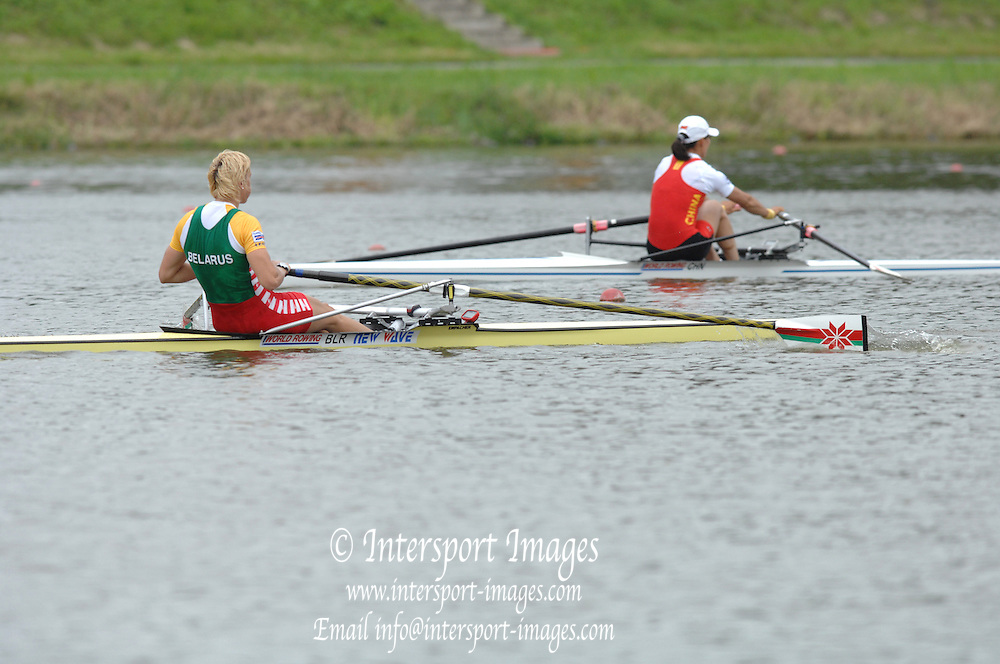Amsterdam, HOLLAND,  BLR W1X,  Elaterina KARSTEN, at the 2007 FISA World Cup Second Round, Finals day,  at the Bosbaan Regatta Rowing Course. 24.06.2007[Mandatory Credit: Peter Spurrier/Intersport-images]...... , Rowing Course: Bosbaan Rowing Course, Amsterdam, NETHERLANDS