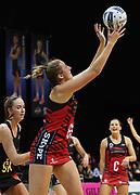 Tactix goal shoot Ellie Bird takes a pass during the ANZ Premiership netball match - Magic v 170529 ANZ Premiership - Magic v Tactix played at Claudelands Arena, Hamilton, New Zealand on Monday 29 May 2017. Copyright photo: Bruce Lim / www.photosport.nz