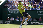 Sam Querrey (USA) Vs Thomas Fabbiano (ITA) Action at the Nature Valley International Eastbourne 2019, at Devonshire Park, Eastbourne, United Kingdom on 28th June 2019.