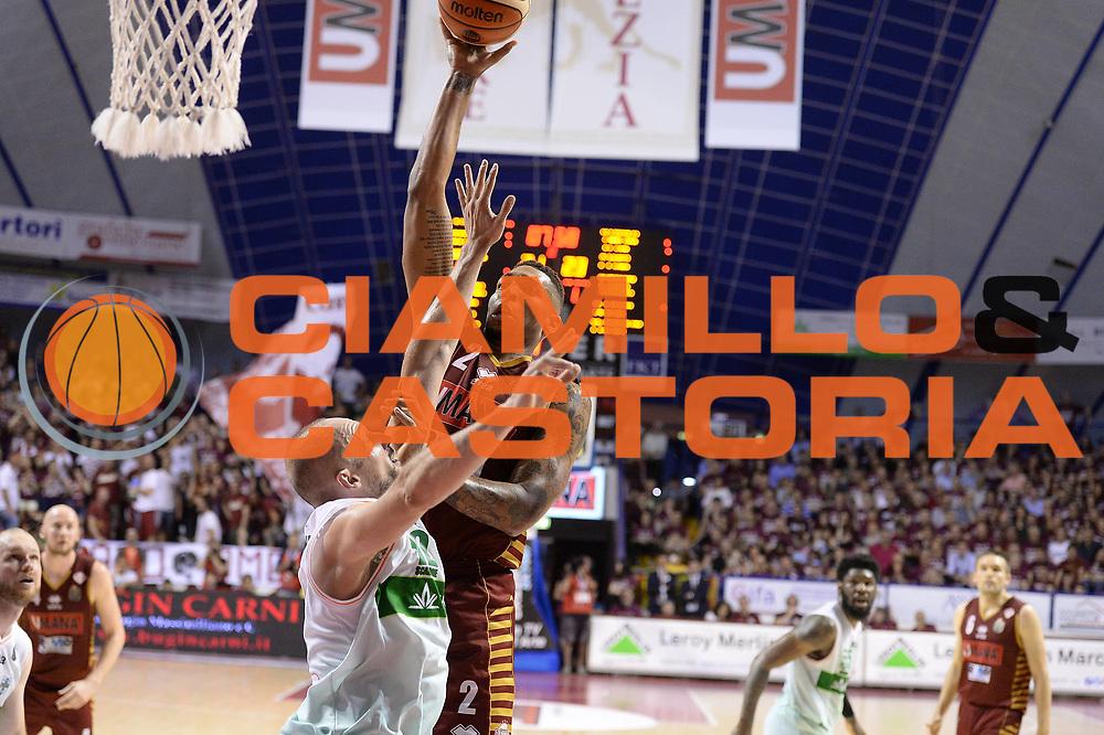 Hagins Jamelle<br /> Umana Reyer Venezia - Sidigas Avellino<br /> Lega Basket Serie A 2016/2017<br /> Palyoff Semifinale Gara 1<br /> Venezia 26/05/2017<br /> Foto Ciamillo-Castoria