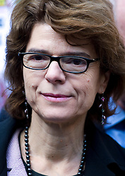 © London News Pictures. 05/03/2013 . London, UK.  Vicky Pryce arriving at Southwark Crown Court on March 05, 2013 where she is currently standing trial for perverting the course of justice. Vicky Pryce admitted accepting penalty points incurred by her former husband and disgraced MP Chris Huhne in 2003. Photo credit : Ben Cawthra/LNP
