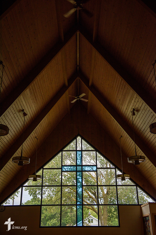 The sanctuary at Zion Lutheran Church, Worms, Neb., on Saturday, Sept. 23, 2017. LCMS Communications/Erik M. Lunsford