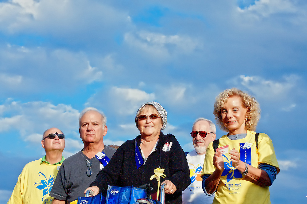 Canada Cancer Society Relay for Life Central Toronto. Fundraising for health research.