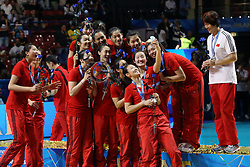 TEAM CHINA SELFIE<br /> AWARDING CEREMONY<br /> VOLLEYBALL WOMEN'S WORLD CHAMPIONSHIP 2014<br /> MILAN 12-10-2014<br /> PHOTO BY FILIPPO RUBIN