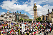 The People's Assembly & Stand up to Racism demo, Central London. Saturday the 16th of July 2016.