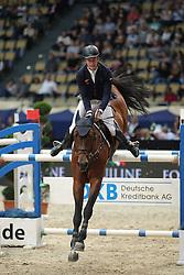 Stuhlmeyer Patrick, (GER), Lacan<br /> DKB-Riders Tour<br /> Grand Prix Kreditbank Jumping München 2015<br /> © Hippo Foto - Stefan Lafrentz