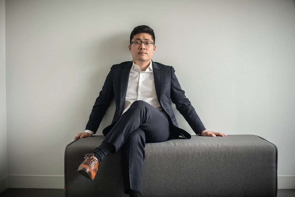 WASHINGTON, DC -- 12/6/17 -- Tim Hwang is the founder and CEO of FiscalNote which uses AI, analytics and natural language processing to automate and analyze government tasks and data…by André Chung #_AC16352