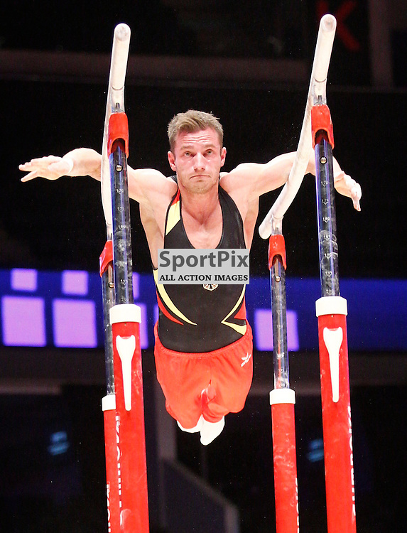 2015 Artistic Gymnastics World Championships being held in Glasgow from 23rd October to 1st November 2015...The German team practice session...(c) STEPHEN LAWSON | SportPix.org.uk