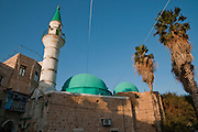 Israel, Western Galilee, A mosque in the old City of Acre