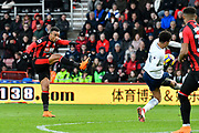 Junior Stanislas (19) of AFC Bournemouth shoots at goal during the Premier League match between Bournemouth and Tottenham Hotspur at the Vitality Stadium, Bournemouth, England on 11 March 2018. Picture by Graham Hunt.