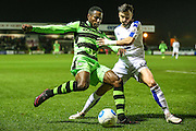 Forest Green Rovers Dale Bennett(6)  during the Vanarama National League match between Forest Green Rovers and Tranmere Rovers at the New Lawn, Forest Green, United Kingdom on 22 November 2016. Photo by Shane Healey.
