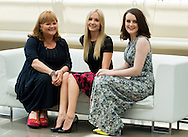 Nicol Lesley, Froggatt Joanne, Mc Shera Sophie attends photocall at the Grimaldi Forum on June 10, 2014 in Monte-Carlo, Monaco.