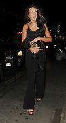 Michelle Keegan Lipsy London party, which took place at Nobu in Mayfair on Wednesday<br /> ©Exclusivepix Media