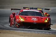 April 29-May 1, 2016: IMSA Monterey Sportscar Grand Prix. #62 Giancarlo Fisichella, Toni Vilander,Risi Competizione, Ferrari 488 GTE GTLM