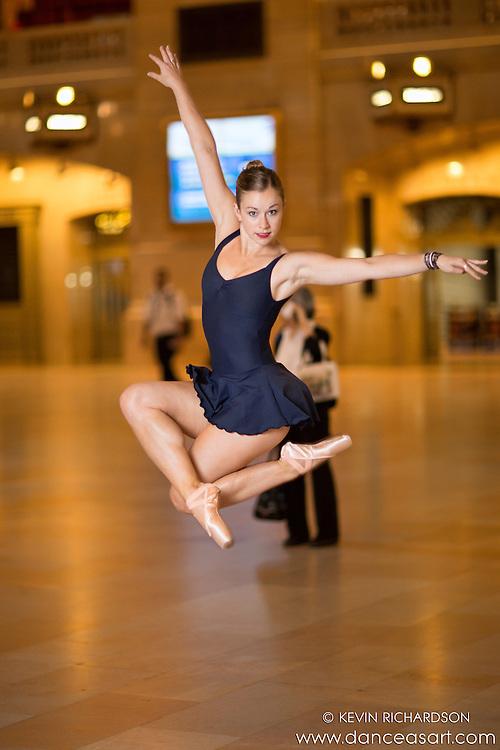 Dance As Art featuring Ballerina Jaclyn Wheatley Grand Central Station New York City Photography