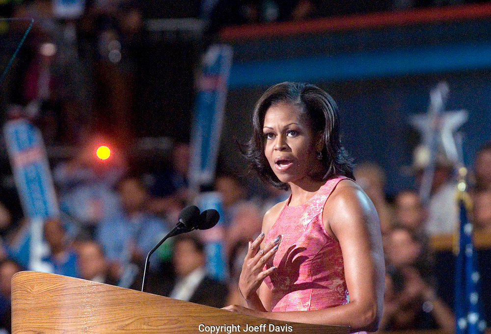 CHARLOTTE, NC - September 4, 2012 - Remarks by Michelle Obama, First Lady of the United States at the 2012 Democratic National Convention.