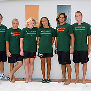 2002 Hurricanes Swimming Photo Day