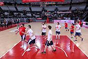 Ragazzi Special Olympics<br /> Virtus Roma - Zeus Energy Group Rieti<br /> Campionato Basket LNP 2018/2019<br /> Roma 02/12/2018<br /> Foto Gennaro Masi / Ciamillo-Castoria