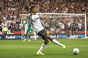Curtis Davies (33) of Derby County during the EFL Cup match between Nottingham Forest and Derby County at the City Ground, Nottingham, England on 27 August 2019.