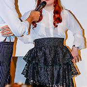 NLD/Amsterdam/20131014 -  Marie Claire Starters Award 2013, Jort Kelder en  in gesprek met genomineerde Inge Parée – HuurDeCatwalk