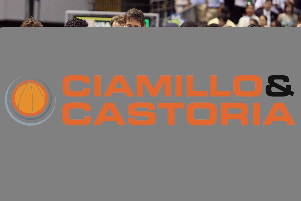 DESCRIZIONE : Sapporo Giappone Japan Men World Championship 2006 Campionati Mondiali Usa-Italy <br /> GIOCATORE : D'Antoni Soragna <br /> SQUADRA : Italy Italia <br /> EVENTO : Sapporo Giappone Japan Men World Championship 2006 Campionato Mondiale Usa-Italy <br /> GARA : Usa Italy Stati Uniti America Italia <br /> DATA : 23/08/2006 <br /> CATEGORIA : <br /> SPORT : Pallacanestro <br /> AUTORE : Agenzia Ciamillo-Castoria/G.Ciamillo <br /> Galleria : Japan World Championship 2006<br /> Fotonotizia : Sapporo Giappone Japan Men World Championship 2006 Campionati Mondiali Usa-Italy <br /> Predefinita :