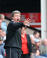 Photo: Mark Stephenson.<br />Walsall v Hereford United. Coca Cola League 2. 09/04/2007. Hereford's manager Mr G Turner